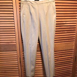 J. Crew Martie Fit Slim Cropped Khaki Pants